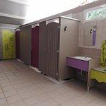 Sanitaires Camping Domaine de Gajan
