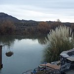 Hot springs pool on the Rio Grande