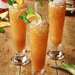 Caramelised rum punch