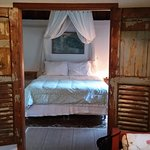 The romantic suite in the chalet