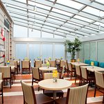 Greenhouse Breakfast Area