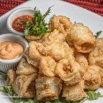 Crispy Calamari with Marinara Sauce and Chipotle Mayo