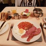Freshly cooked English breakfast