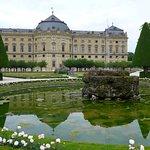 Residenz zu Würzburg mit Hofgarten
