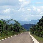 Drive Enroute to Nim Li Punit - Maya Mountain Range