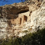 Cliff dwellings from the paved path