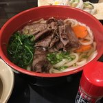 It is always nice to order something hot like this Beef Udon ($6.95) when outside is minus 2 deg