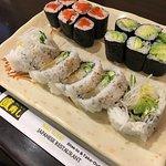 Veggie Roll, Wild Salmon Maki & Avocado Roll