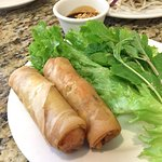 (50) Cha Gio: fried spring rolls with shrimp and pork