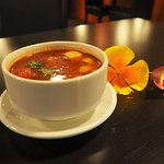 """Tom Yum Soup"" try our Tom Yum Soup at our place even better with if you can handle hot level"