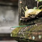 they light incense everyday with for their morning offerings.