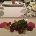 Beet salad at Lucia