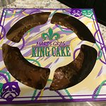 Love the king cake.