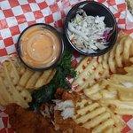 Tin Fish Tradition Square Foto