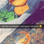 Fried Green tomatoes here are to die for!