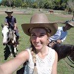 having fun back at the ranch