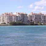 Beautiful Miami skyline