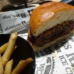 my burger cut in half