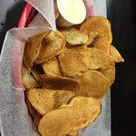 DELICIOUS homemade potato chips...perfection!