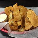 DELICIOUS homemade potato chips...perfection!