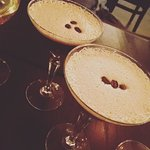 Espresso martinis to end the night