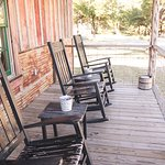 Porch of Wrangler Cabin