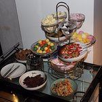 Complimentary candy in the lobby