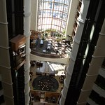 View of lobby from room floor