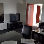 Dawson Motel, Unit 19 lounge/dining/TV