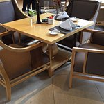 The stupidest breakfast furniture I have ever experienced.