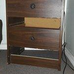 Bedside cabinet falling apart