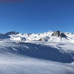 magnificent slopes and views with a variety of levels of challenge