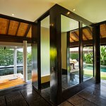 Bathing Facilities at One Bedroom Villa