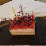 Complimentary birthday cake, room service