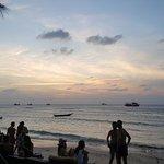 Sunset at Maya Beach
