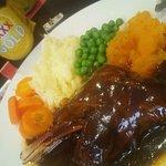 Lamb Shanks and veg