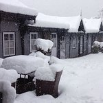 Most snow for over 25 years!! The lounge, dining area. Wow!! What fantastic staff, food and loca