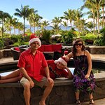 Christmas morning at Honua Kai Resort & Spa.