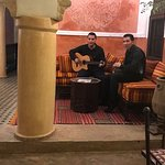 Abdel and Sofien entertaining guests on New Years Eve