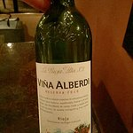 This rioja reserva was delicous!