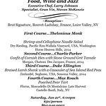 Elegant Dinner and Wine tasting...January 21st, 6:00 pm