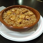 Bar Jerez - arroz con pulpo.