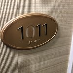 Room #1011 needs some TLC; I would look into finding a new maintenance worker. Did someone try t