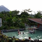 Hot springs, pool was on the other side