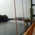 Lakhyavaram Lake Hanging bridge