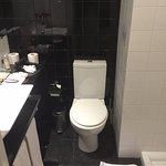 the smelly tiny bathroom... with minimum facilities...