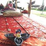 Massage near by the beach
