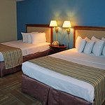 Our Newly remodeled rooms. We offer in room coffee, flat screen T.V's and Free WiFi. No resort f