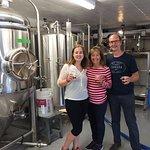 Tour of split rail brewery