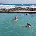 Salt Water pool right at the ocean